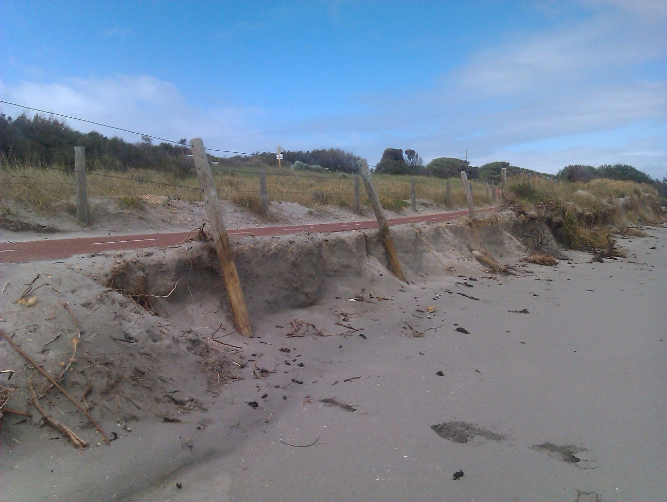 2013 - Erosion at Shared Path