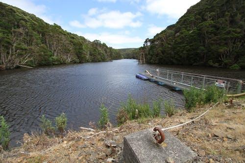 Grassy water supply dam