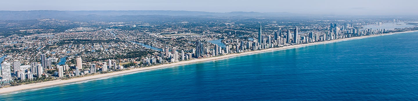 Gold Coast city skyline