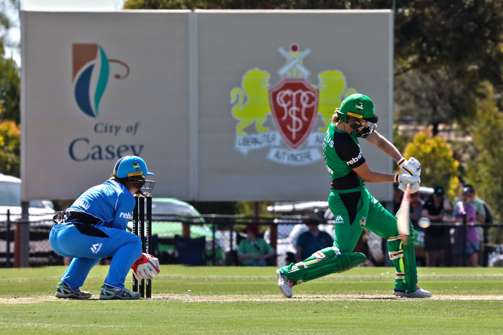 In Action: Regional Cricket Oval Melbourne Stars WBBL match 2018