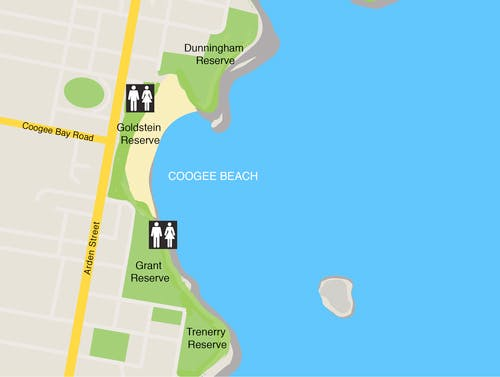 Coogee Parks Map