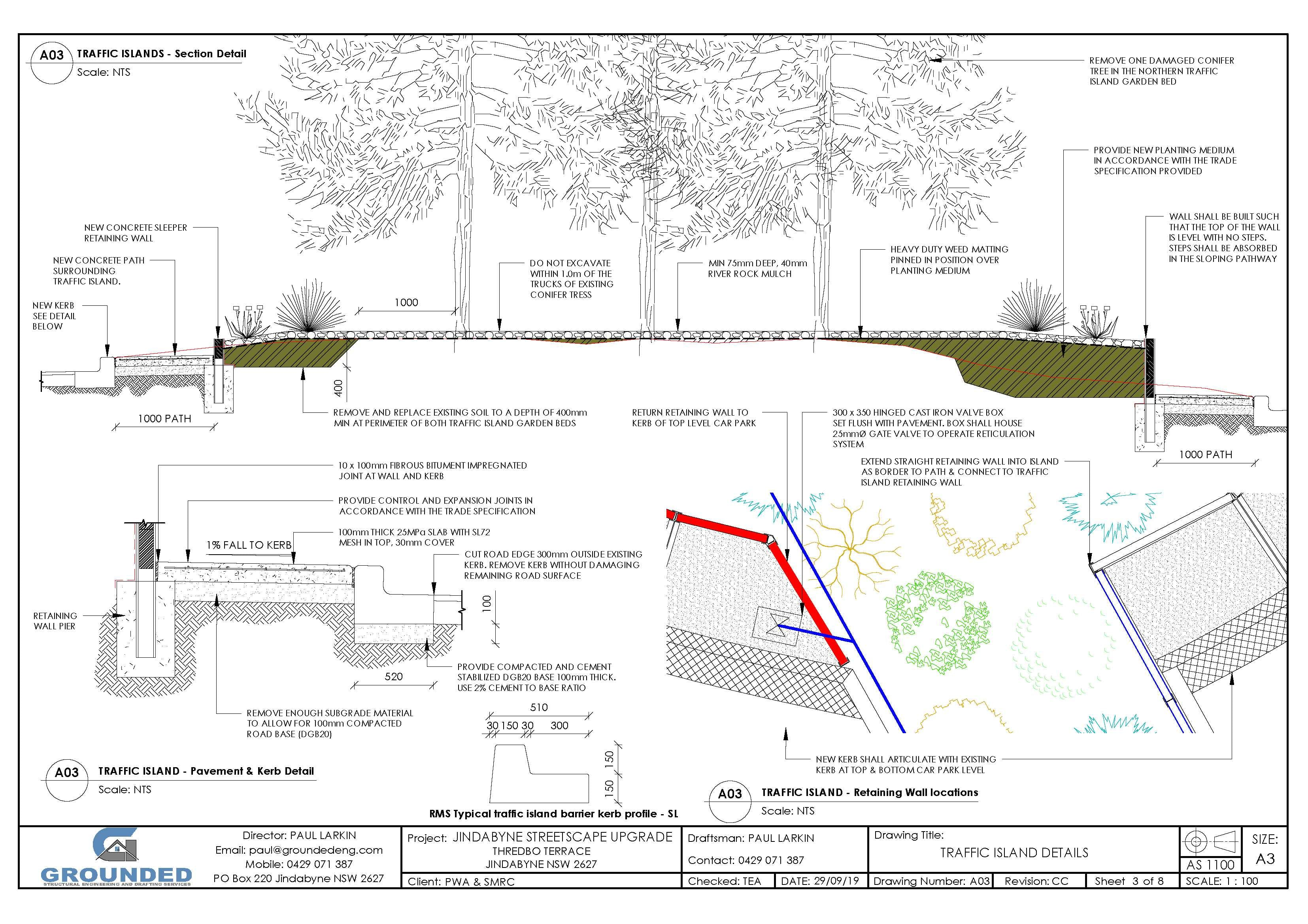 Jindabyne Streetscape Upgrade - Landscape Plans (002)_3