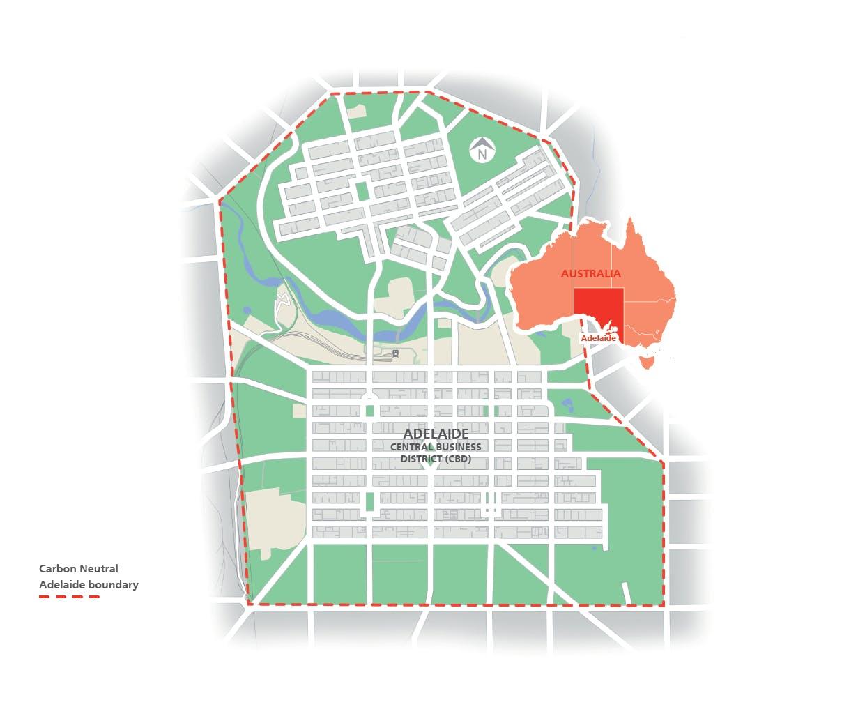 Cna Boundary Map