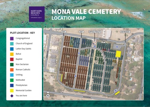 Mona Vale Cemetery Conservation Management Plan Draft Your - Conservation cemetery map us