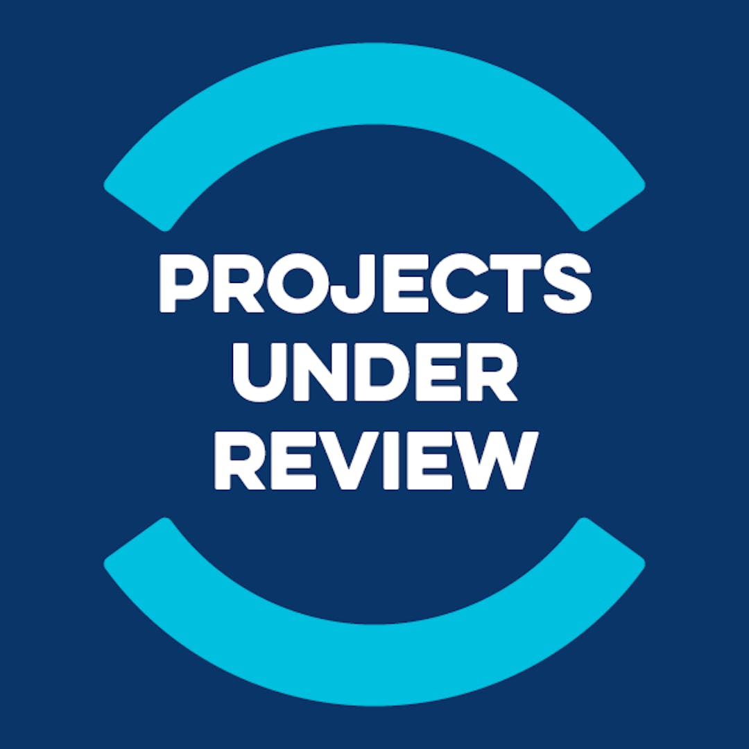 Jtc   projects under review
