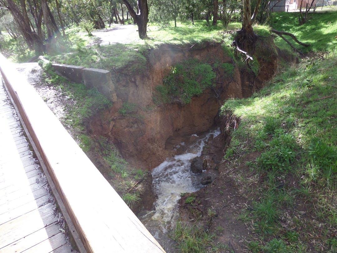 Tangari Regional Park Drainage work   Your Say Onkaparinga