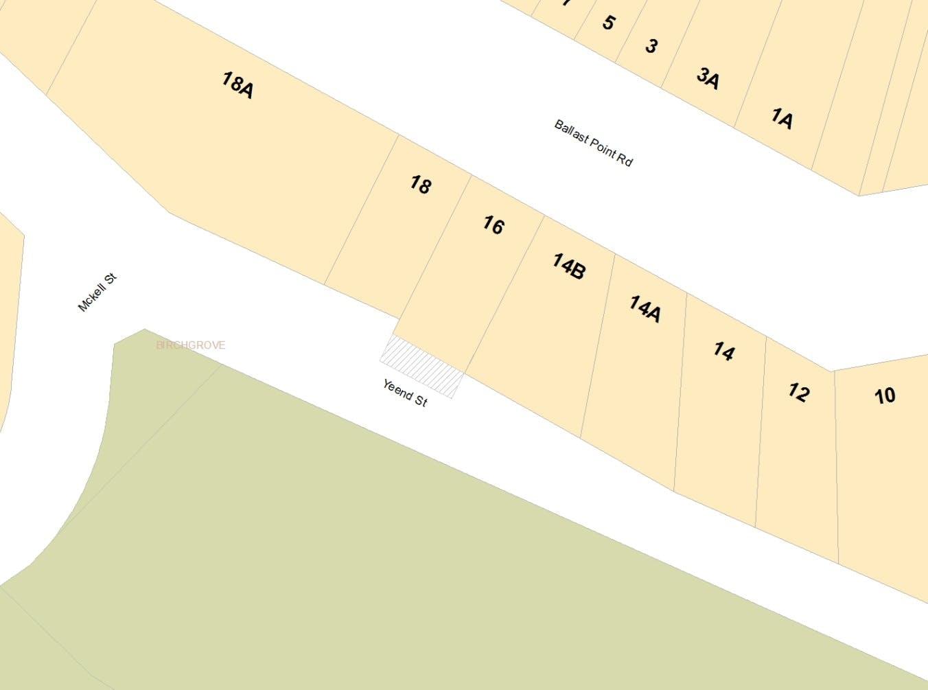 Yeend Street - Partial Road Closure - Map