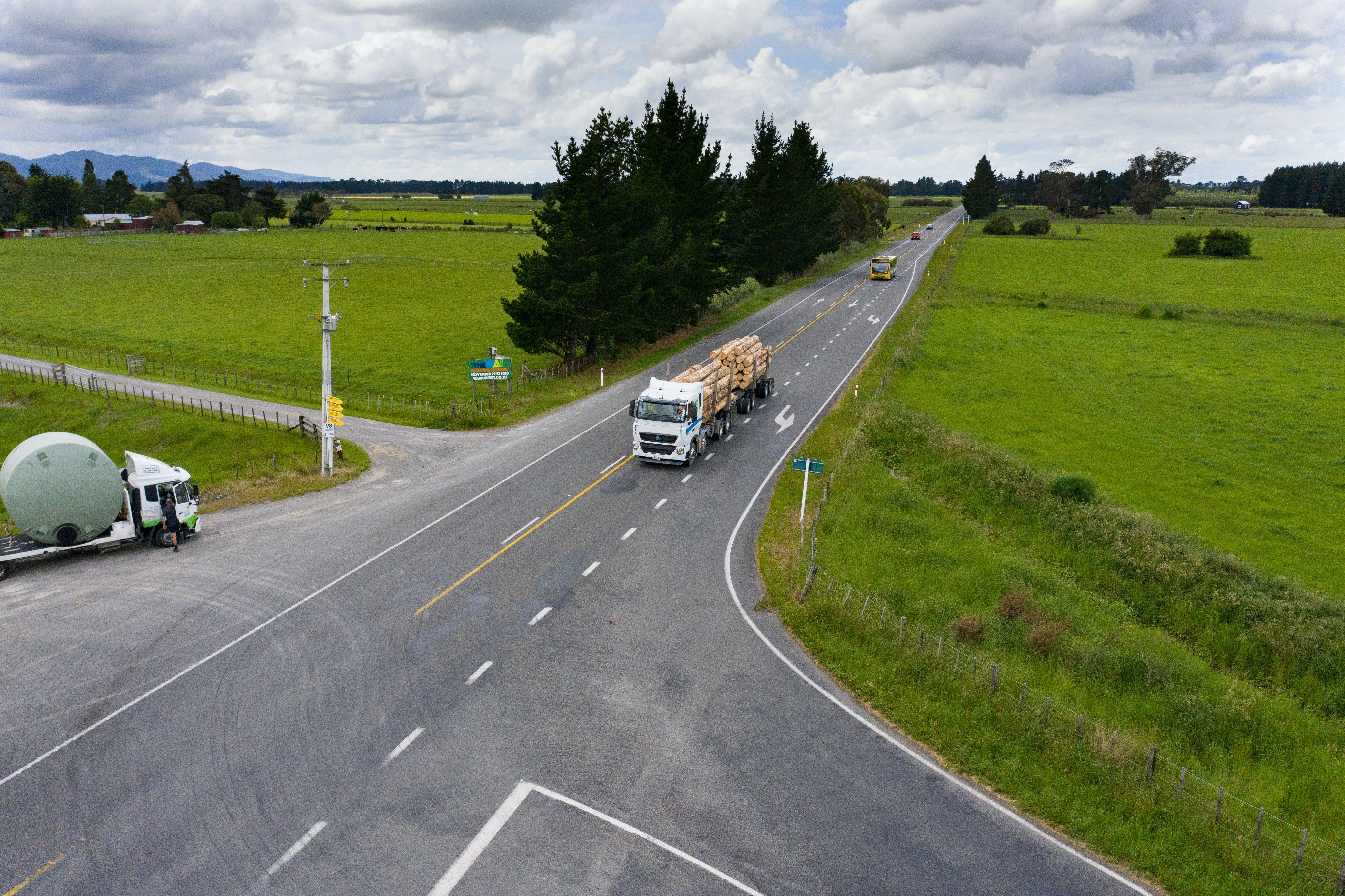 Wairarapa intersection