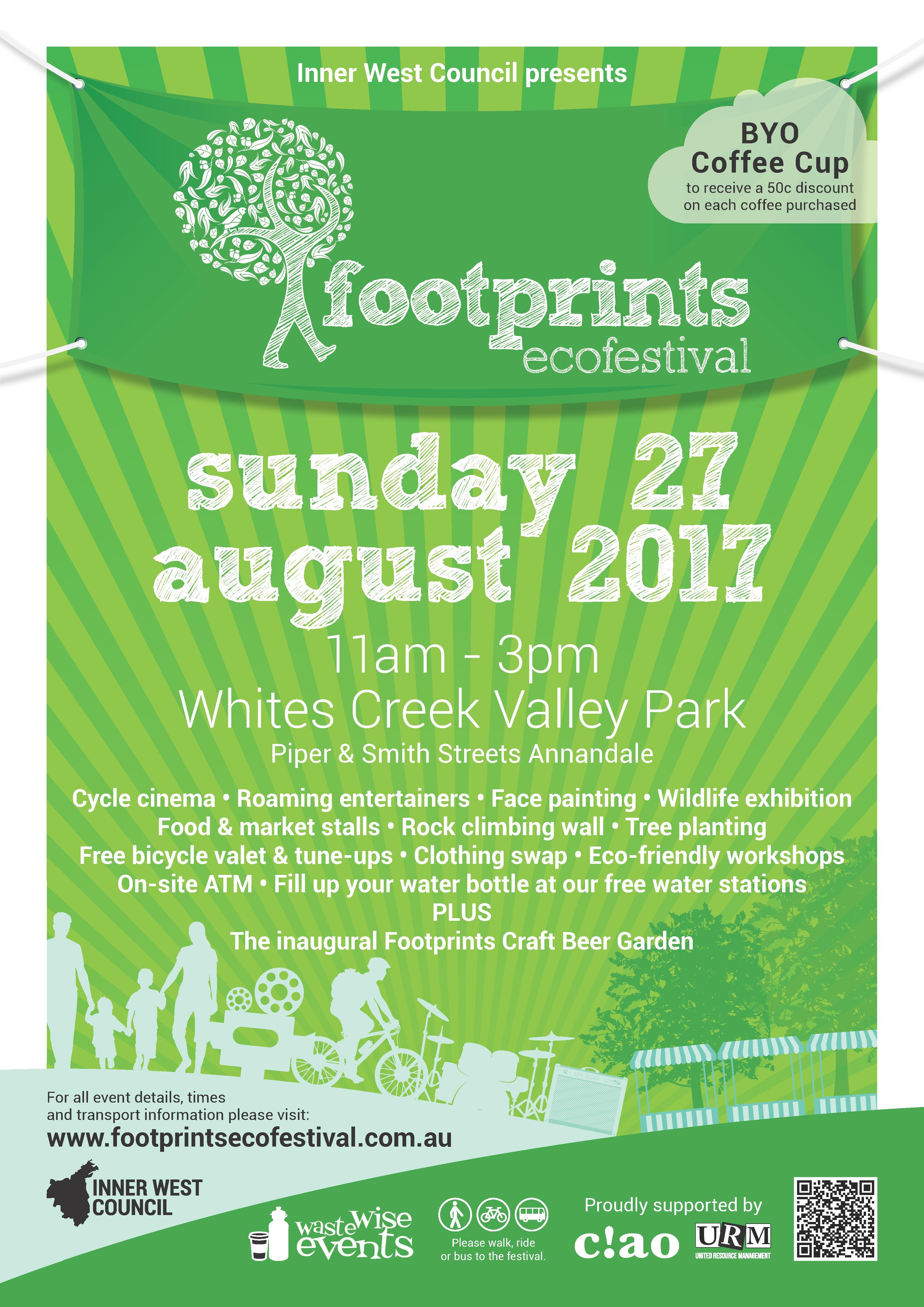 Iwc 2017 Footprints Festival A3 Poster
