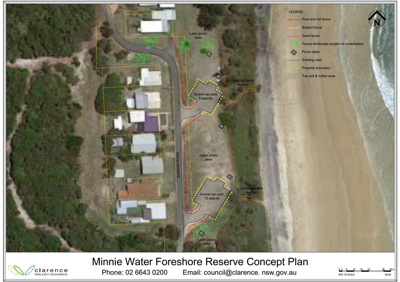 Minnie Foreshore_Concept Arrangement