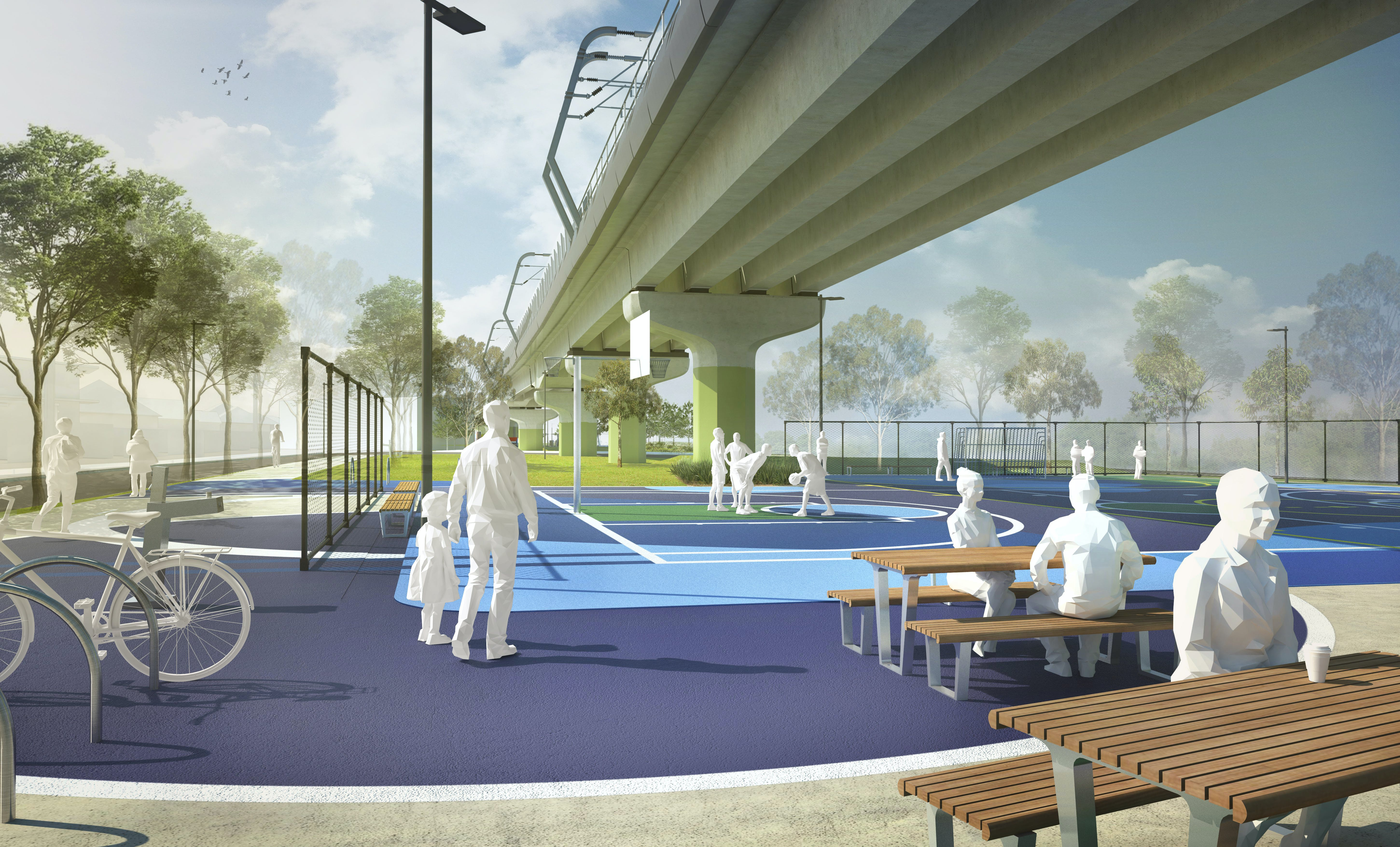 Artist Impression Centre Road West community space