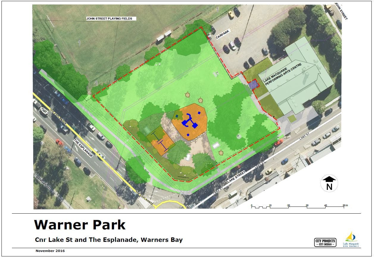 Existing Park Features