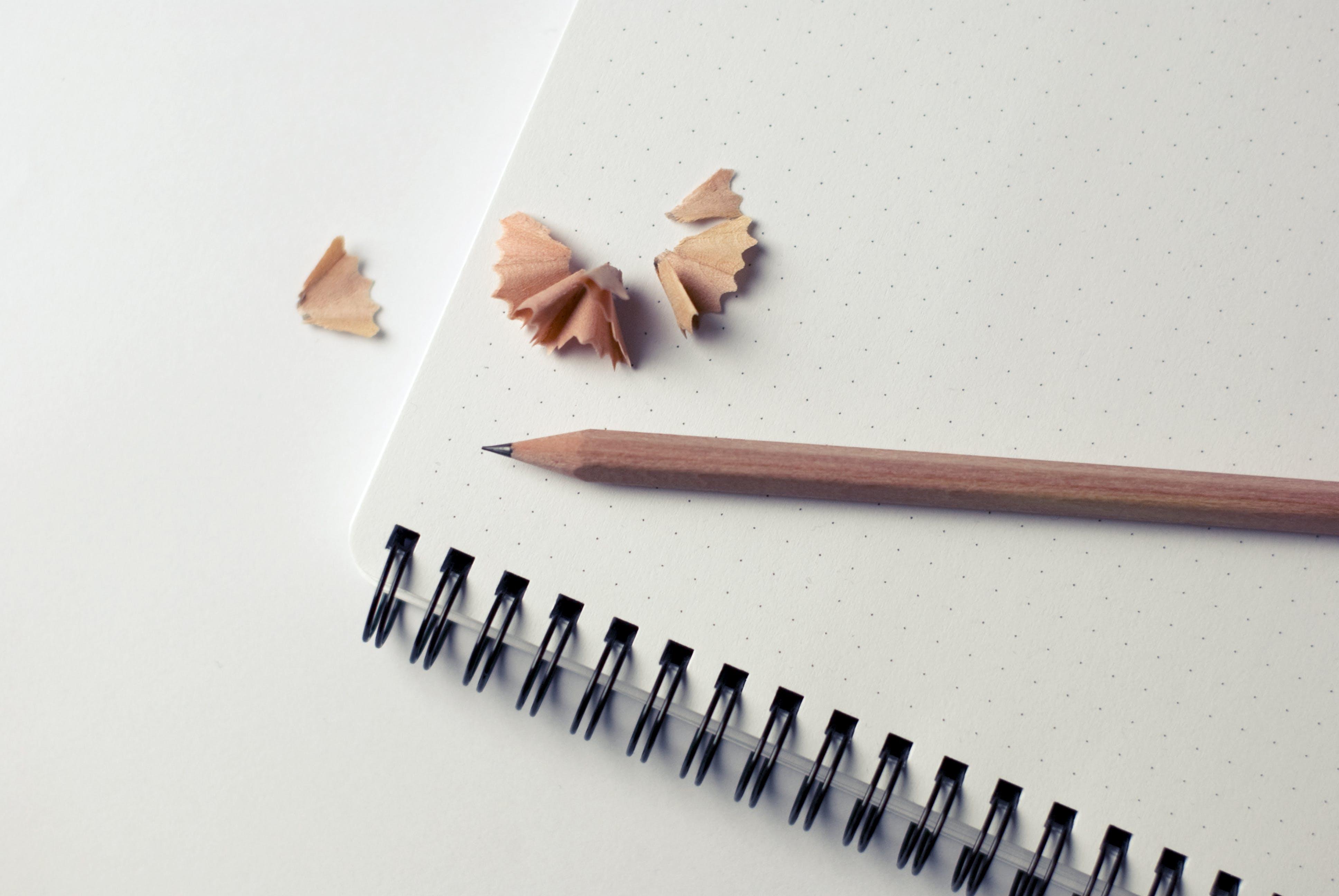 Pexels notebook pencil notes sketch