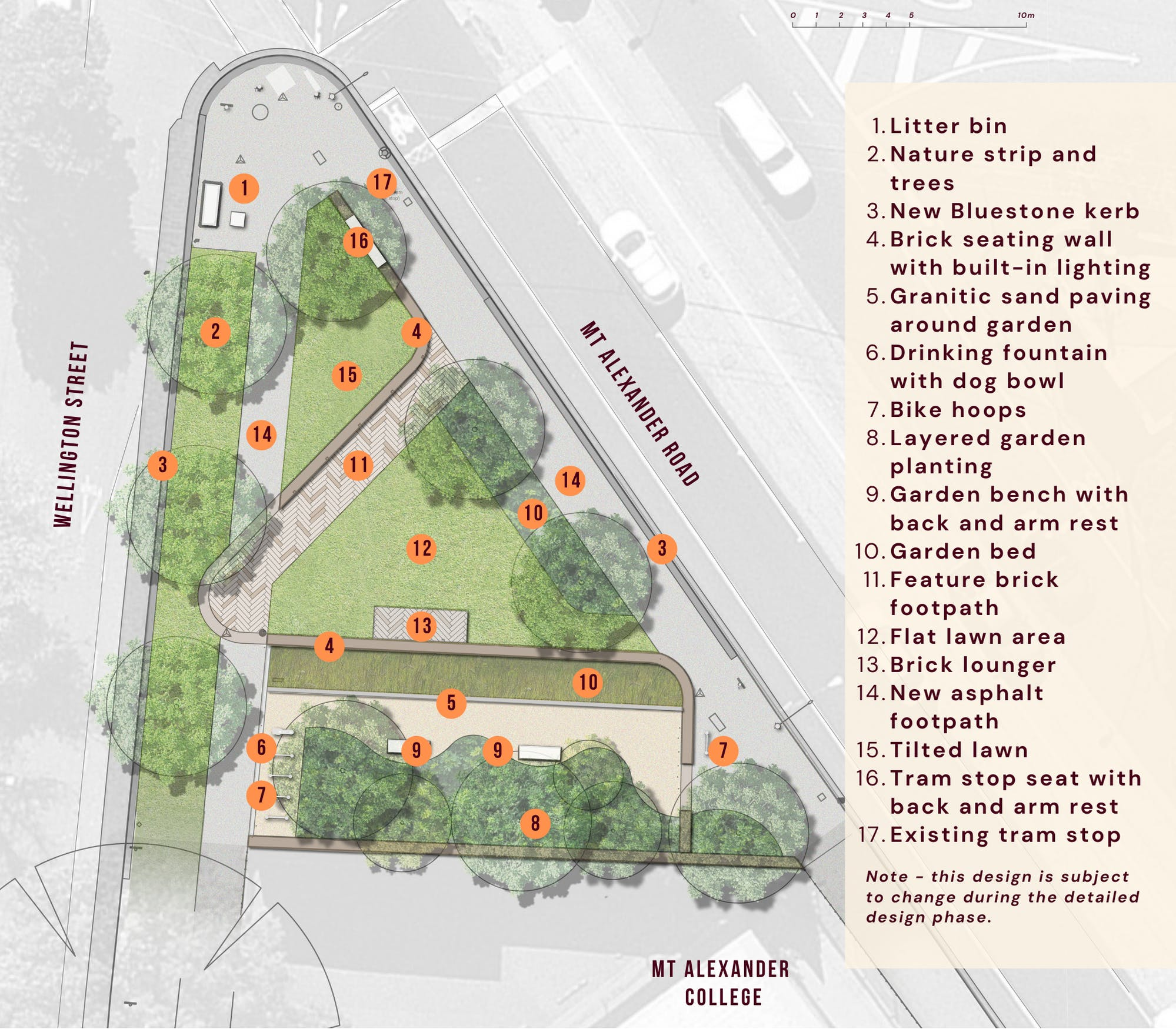 Flemington Pocket Park updated Concept Design