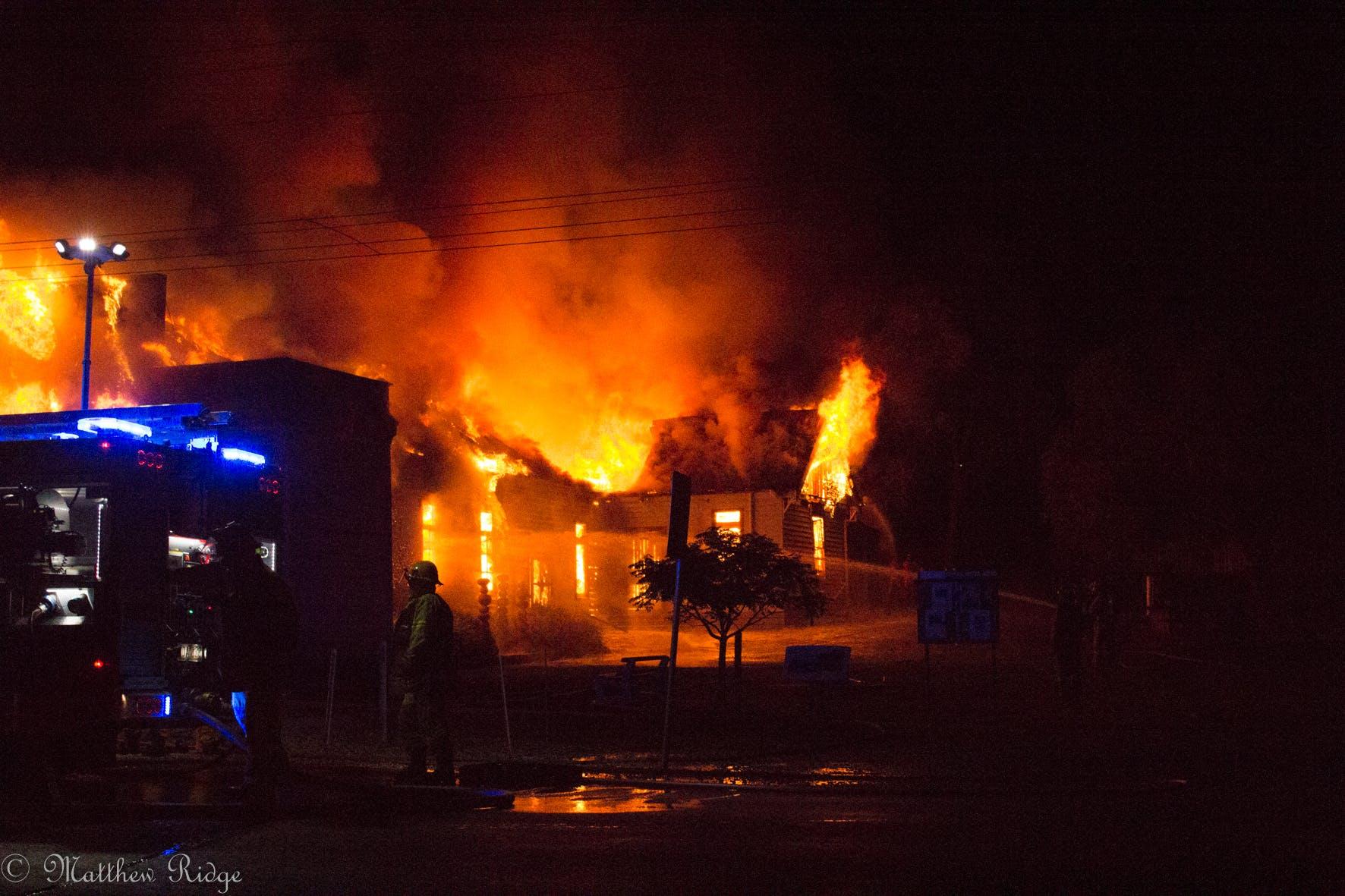 Tallarook hall fire